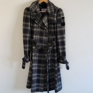 Juicy Couture coat with belt